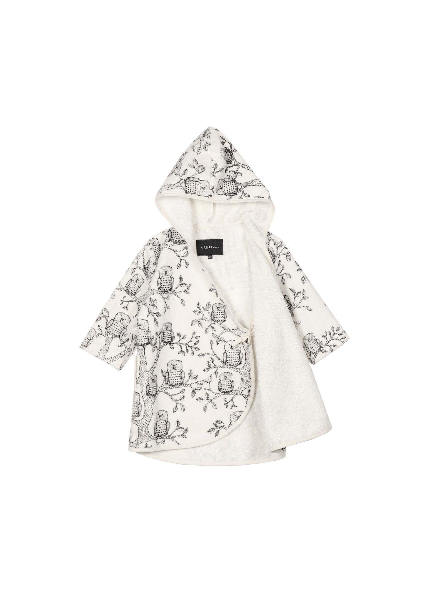 vauvan kietaisukylpytakki - pöllö - Aarrekid c114c6c5f6
