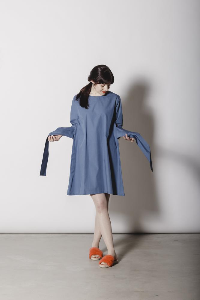 Emilia mekko, Estate blue | Aarrelabel