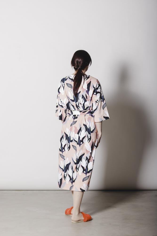 Samara kimono, Flowertile | Aarrelabel